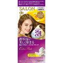 サロン ド プロ 泡のヘアカラー・エクストラリッチ(白髪用) 1 シャイニングブラウン 50g+50g (医薬部外品)