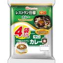 日本ハム レストラン仕様カレー(辛口) 4袋