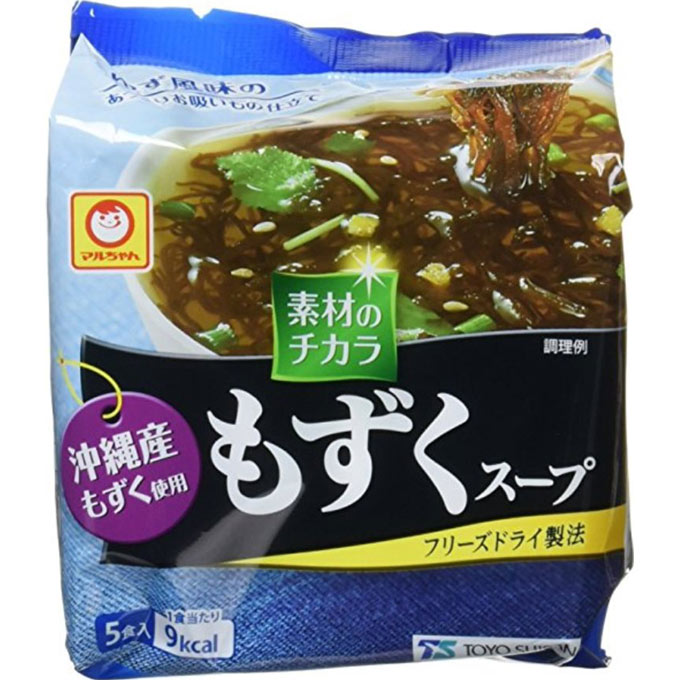 東洋水産 沖縄産もずくスープ 5P