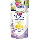 バスクリン 薬用ソフレ 濃厚しっとり入浴液 ホワイトフローラルの香り つめかえ用 400ml (医薬部外品)