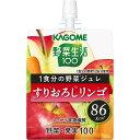カゴメ 野菜生活100 1食分の野菜ジュレすりおろしリンゴ 180g
