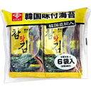 永井海苔 韓国味付海苔 6P