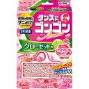 大日本除蟲菊 ゴンゴンアロマ クローゼット用N リッチフローラルの香り 3個