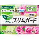 花王 ロリエ スリムガード スイートローズの香り しっかり昼用 羽つき 26コ(医薬部外品)