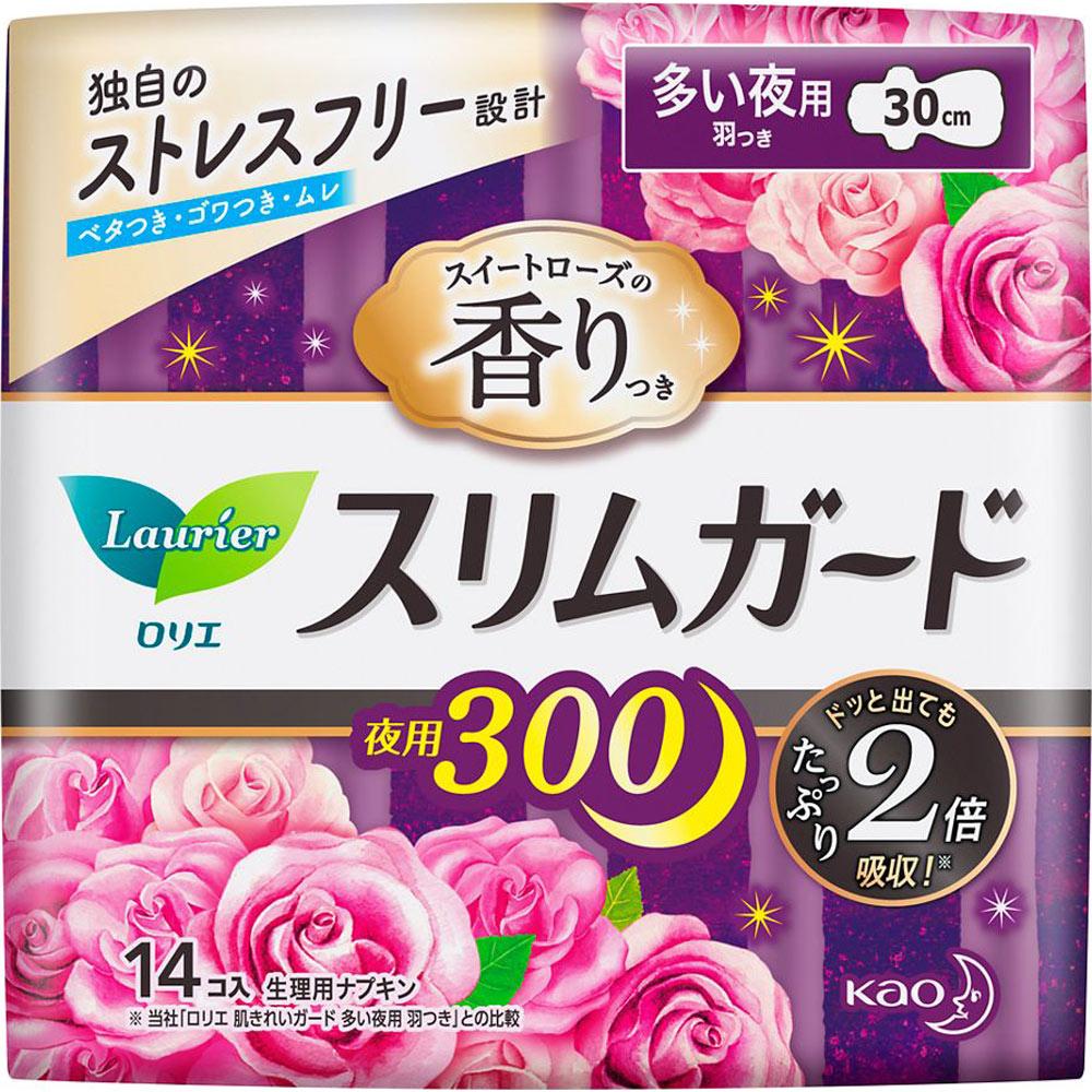 花王 ロリエ スリムガード スイートローズの香り...の商品画像
