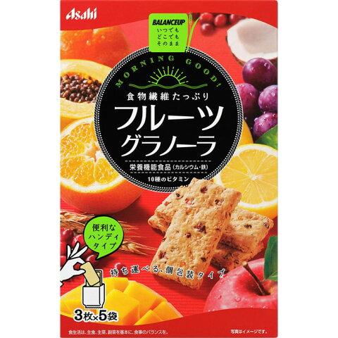 アサヒグループ食品株式会社 バランスアップ フルーツグラノーラ 3枚×5袋