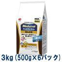 PETLINE メディコート アレルゲンカット 魚&お米 1歳から 成犬用 3kg(500g×6個パック)