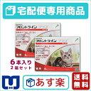 【動物用医薬品】フロントラインプラス猫用 1箱6本入 2箱セット