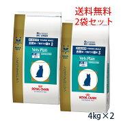 【C】ロイヤルカナンベッツプラン猫用 メールケア 4kg(2袋セット)