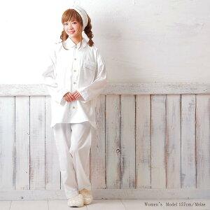 松並木のあたたか、冬用パジャマ長袖・前開きレディース・メンズ敏感肌にもやさしい綿100%無添加ガーゼパジャマ