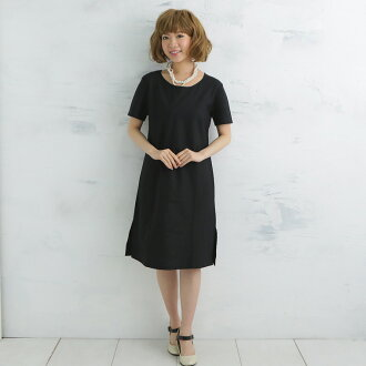 Sarah re-comfortable comfort! Two pieces of gauze stack black short sleeves gauze one piece 10P30Nov13 which are kind to skin in the one of allergy to atopic sensitive skin