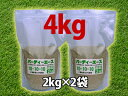 芝生の手入れに欠かせない芝生の肥料バーディーエース 4kg