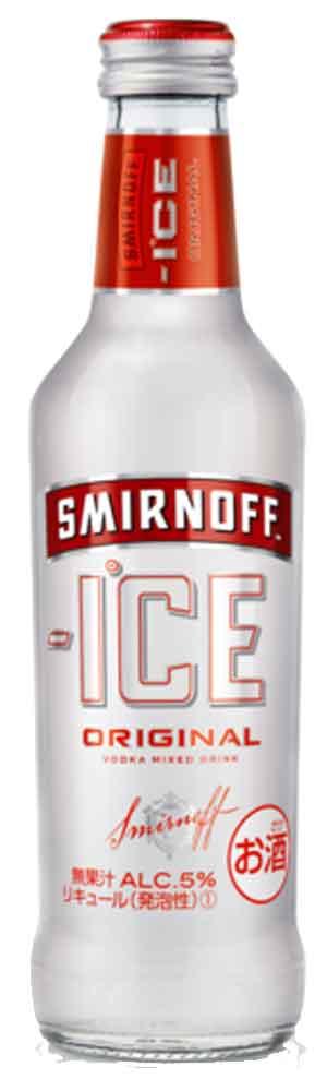スミノフ アイス275ml瓶 24本入1ケースま...の商品画像