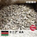 コーヒー生豆珈琲豆未焙煎1kgケニアAA(KenyaAA)