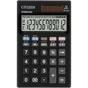 在庫限り シチズン 12桁手帳サイズ電卓  DE1220 CITIZEN