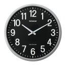 ショッピング電波 電波掛時計 ザラージ GDK-001K(クロ) 1個 キングジム 24-7321-01