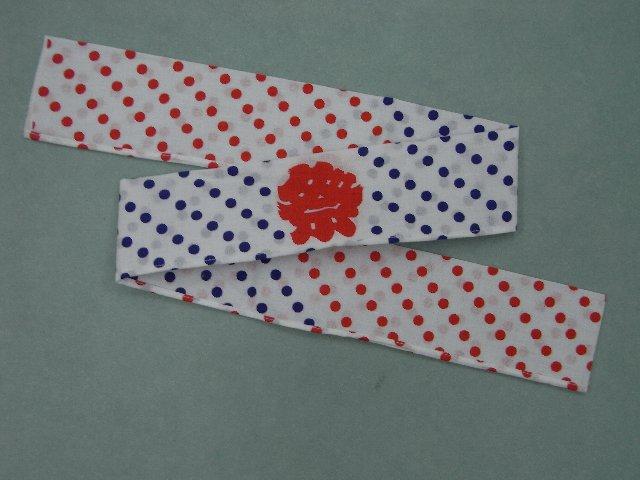 お祭はちまき(子供用)巾5.5cm・長さ74cm
