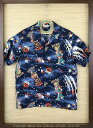 """SUN SURF サンサーフ RAYON S/S SPECIAL EDITION HOALOHA""""THE DAYS OF SPACE ROBOT"""" Style ..."""