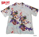 SUN SURF サンサーフ アロハシャツRAYON S/S SPECIAL EDITION JAPANESE BAZAAR