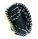 HI-GOLD(ハイゴールド) ソフトボールミットBASIC(ベーシック) 一塁手兼捕手用グローブ イエロー×ブラック  BSG-68F 10P03Dec16