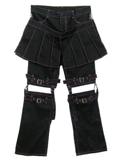 Bondage pants with warmer