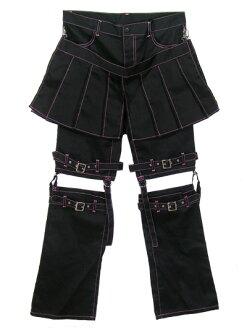 Bondage pants with warmer
