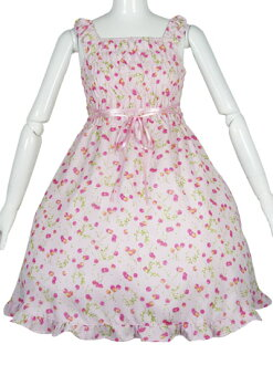 Cherry Berry jumper skirt 8L1010