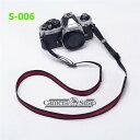 ゆうメール 送料無料 一眼レフ/ミラーレス用 カメラネック ストラップ S-006 Canon Nikon Sony leica olympus OM-D 用 おしゃれ カメラ ストラップ