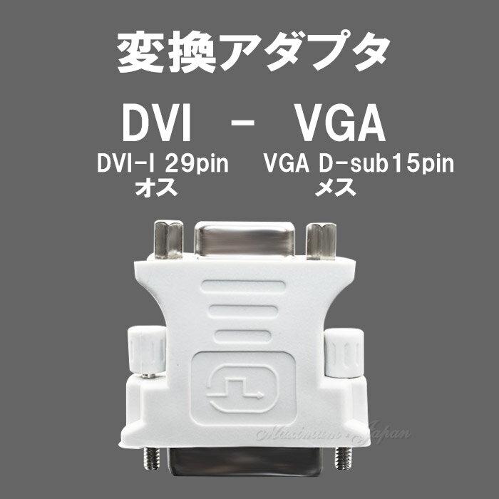 DVI-VGA変換アダプタ