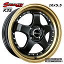 ■ STEALTH Racing K35 ■16x5.5J ...