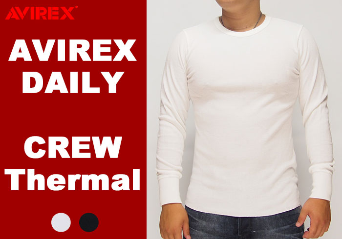 AVIREX[アヴィレックス] デイリー サーマ...の商品画像