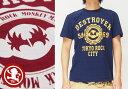 悟空本舗[ゴクー]GOCOO 猿の軍団 和柄Tシャツ/半袖/日本製/GT-8105/送料無料【地獄の猿軍団をポップにデザインした和柄Tシャツ!】