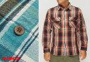 AVIREX[アヴィレックス] デイリー フラネル チェックシャツ/6165132/送料無料【地厚で丈夫なAVIREXのネルシャツ!】