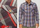 AVIREX[アヴィレックス] デイリー ウエスタン フラネル チェックシャツ/6165133/送料無料【地厚で丈夫なAVIREXのネルシャツ!】