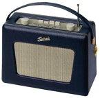 【正規輸入代理店】【日本仕様】【ROBERTS RADIO】英国 ロバーツラジオ R550 レザークロス ブルー(ヴィンテージ ホワイトパネルモデル)