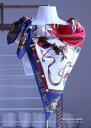 アイビー調ビンテージのシルクスカーフ復刻版おしゃれで可愛いショールバサッと羽織れる大判正方形スケア83cm×83cm春夏に使い易い軽め10匁シルククレープ生地silk100%AB格メーカーアウトレット/わけあり処分品箱なしエコ包装品/中国製