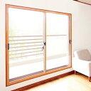軽量断熱内窓 楽窓II (ラクマド2)中空ポリカ(プラダン)2枚引き違いタイプ【G-3サイズ】