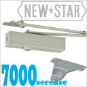 【NEW STAR】 P-7004パラレル型/ストップなしドアクローザー(日本ドアーチェック製造・ニュースター)