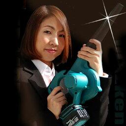 【送料込・花粉も落ち葉も完全撤去!】makita(マキタ)充電式ブロワー UB142DRFバッテリー、充電器フルセット