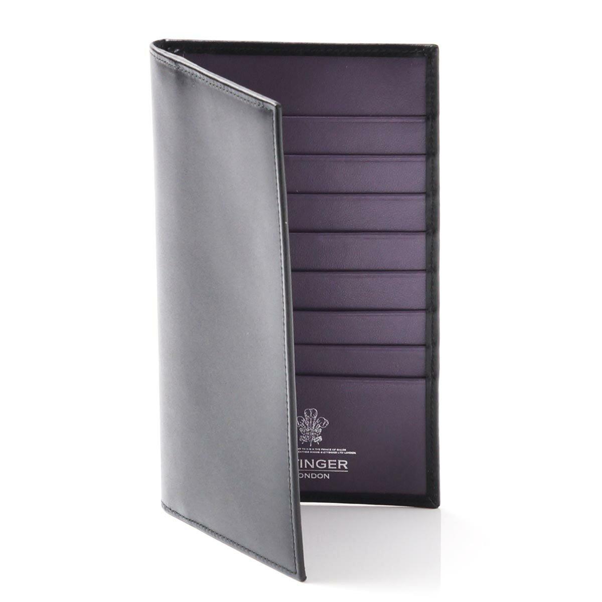 エッティンガー/ETTINGER 長財布 ロイヤルコレクション BLACK×PURPLE ブラック系 st806ajr メンズ【あす楽対応_関東】