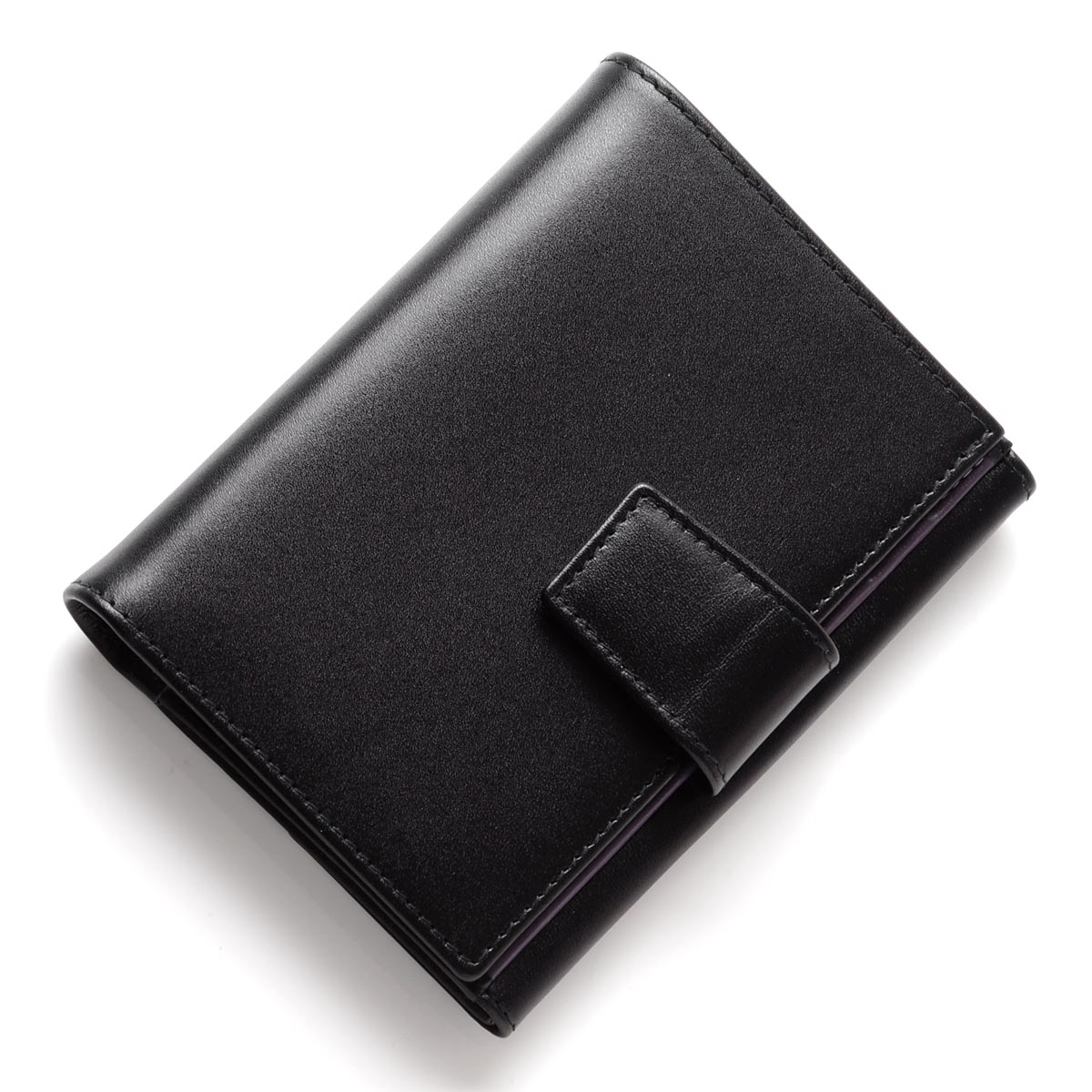 エッティンガー/ETTINGER 2つ折り財布[小銭入れ付き] ロイヤルコレクション/パープルコレクション BLACK×PURPLE et52 purple メンズ【あす楽対応_関東】