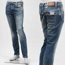 ヌーディージーンズ/nudie jeans co ストレッチジーンズ THIN FINN FLOOD USED ブルー系 111758 メンズ【あす楽対応_関東】【ラッピング無料】【返品送料無料】【16/12/26】