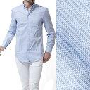 エンポリオアルマーニ/EMPORIO ARMANI スナップダウンシャツ ワイシャツ LIGHTBLUE ブルー系 v1ca6t v114c 039 メンズ【あす楽対応_関東】【17/02/20】