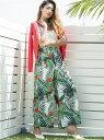 [Rakuten Fashion]【SALE/30%OFF】noranoel botanicalパンツ[DRESS/ドレス] Million Carats ミリオンカラッツ アウトレット パンツ/ジーンズ ワイド/バギーパンツ ホワイト ブラック【RBA_E】【送料無料】