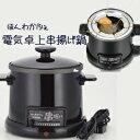 【即納】串揚げ鍋【ほんわかふぇ 電気卓上串揚げ鍋 HR-8952