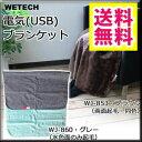 【即納】洗える電気ブランケット USB 【送料無料】【WET...