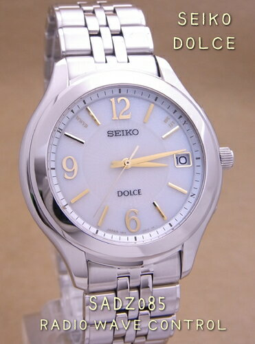送料無料♪セイコー(SEIKO)ドルチェ(DOLCE)メンズソーラー電波腕時計【SADZ085】(正規品)【P19Jul15】