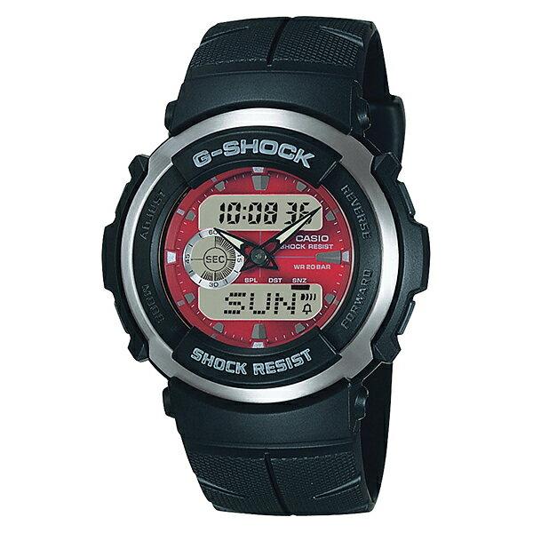 【7年保証】CASIO G-shock メンズ 男性用腕時計アナログ/デジタルコンビネーションシリーズ「G-SPIKE(Gスパイク)」【G-300-4AJF】(国内正規品)