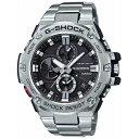 【7年保証】カシオ G-SHOCK G-STEEL メンズ腕時計 男性用 クロノグラフ Bluetooth搭載 タフソーラー 品番:GST-B100D-1AJF