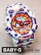 CASIO BABY-G Flower Leopard Series(フラワー・レオパード・シリーズ)レディース腕時計 10気圧防水 【BA-110FL-3AJF】(正規品)